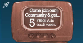Your first 5 Ads each week are FREE